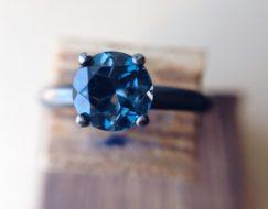 London-Blue-Topaz-Ring-Oxidized-Silver-Ring
