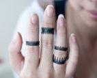 Oxidized Silver Rings - Crown Rings - LoveGem Studio-22
